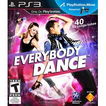 Everybody Dance Ps Move!! Ps3. Nuevo Cerrado.