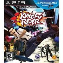 Kung Fu Rider Juego Ps3 Playstation 3 Move Nuevo Y Cerrado!
