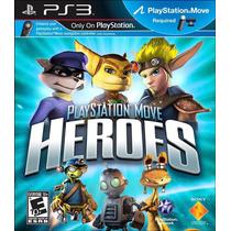 Playstation Move Heroes Ps3- Nuevo