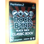 Rock Band Track Pack Classic Rock (519) Ps2 - Orig. Nuevo