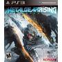 Metal Gear Rising: Revengeance // Nuevo Y Sellado Para Ps3