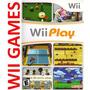 Juego Wii Play - Original Nintendo Wii Y Wii U - Región Ntsc