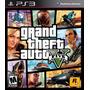 Playstation 3 * Gta 5 V * Juego Ps3 Español Store Platinum