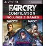 Far Cry Compilation 3 Games - Juego Ps3 Box Original