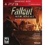 Fallout New Vegas Ultimate Edition Todos Los Dlc Ps3 Nuevos