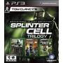 Splinter Cell Trilogy Hd Nuevo Ps3 Dakmor Canje/venta