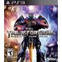 Transformers Rise Of The Dark Spark Ps3 Nuevo Sellado