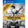 Sniper Elite 3 Ultimate Edition Ps4 Nuevo Sellado Original