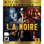 L.a. Noire - Ps3 - Nuevo - Gameplay Moreno