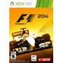 F1 2014 Xbox 360 Ntsc Nuevo Sellado Original Formato Físico
