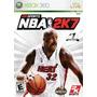 Juego Consola Xbox 360 Nba 2k7 Basquet Pal