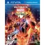 Ultimate Marvel Vs Capcom 3 Nuevo Ps Vita Dakmor Canje/venta