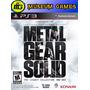 Metal Gear Solid Legacy Collection Ps3 Fisico Sellado Local