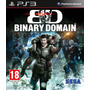 Binary Domain Ps3 Nuevo Local A La Calle Xgamers
