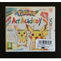 Pokemon Art Academy Nintend 3ds; Nuevo;europeo