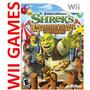 Juego Shrek Carnival Craze - Original Nintendo Wii Y Wii U