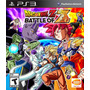 Juego Ps3 - Dragon Ball Z Battle Of Z - Fisico - Flores