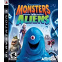 Monsters Vs Aliens Ps3 Tomo Juegos En Parte De Pago! Envios!