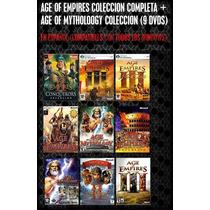 Age Of Empires Y Age Mythologies Coleccion Para Pc (9 Dvds)