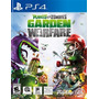 Plants Vs Zombies Garden Warfare // Nuevo Y Sellado Para Ps4