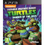 Tortugas Ninja Danger Of The Ooze Ps3 Digital