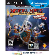 Ps3 Juego Original Medieval Moves Deadmunds Quest. Nuevo!