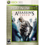 Assassin´s Creed Platinum Hits Xbox 360 Ntsc Nuevo Sellado