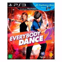 Juego Everybody Dance 2 - Ps3 - Nuevo- Kit Move