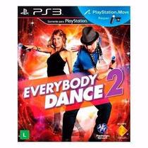 Juego Everybody Dance 2 - Ps3 - Nuevo- Kit Move