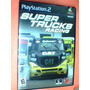 Super Trucks Racing - (729) Ps2 - Original Completo
