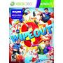 Juego Xbox 360 Wipeout 3 Hombre Al Agua Kinect Poco Uso