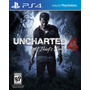 Uncharted 4 A Thiefs End Ps4   Digital   Primaria