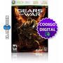 Gears Of War Xbox 360 - Codigo Digital Original