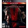 Metal Gear Solid 5 V Mgs The Phantom Pain Ps3 Digital Smg