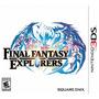 Final Fantasy Explorers Nuevo Nintendo 3ds Dakmor Canje/vent