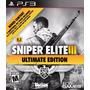 Sniper Elite 3 Ultimate Edition Nuevo Ps3 Dakmor Canje/venta