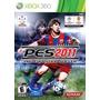 Juego Pes-pro Evolution Soccer 2011 Xbox 360 Disco Físico