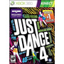 Juego Just Dance 4 Xbox 360 Ntsc Español Kinect