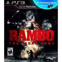 Rambo The Videogame Ps3 Nuevo Original Compatible Move