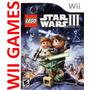 Juego Lego Star Wars 3 The Clone Wars,original Wii Castellan