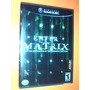 Gamecube - Enter The Matrix - Completo 2 Discos Caja- Manual
