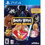 Angry Birds Star Wars Ps4 Sellado Físico (depót Flores)