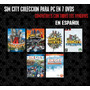 Sim City Coleccion En Español Para Windows (7 Dvds)