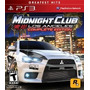 Midnight Club: Los Angeles Comp. Edition Ps3 Nuevo Game Zone