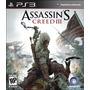 Assassins Creed 3 Ps3 Original Físico Disco Nuevo Sellado