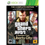 Xbox 360 - Gta 4 The Complete Edition - Usado