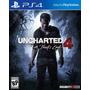 Uncharted 4 Ps4 Original Fisico - Envio Gratis - Pre Venta