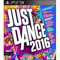 Just Dance 2016 Requiere Move Nuevo Ps3 Dakmor Canje/venta