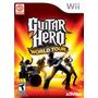 Guitar Hero World Tour En Caja Original Para Wii Wiimini Y U