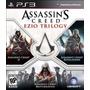 Assassins Creed Ezio Trilogy 3 En 1 - Ps3 Fisico